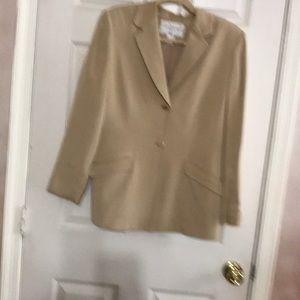 Jones New York silk pants suit